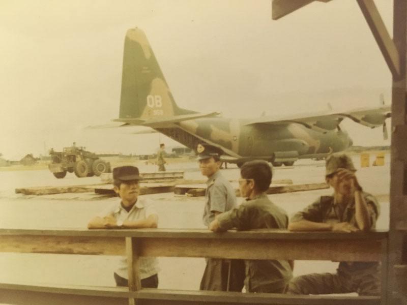 C-130 at Phu Bai Airport
